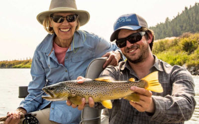 Yellowstone River Fly Fishing Guides, Trips, and Outfitting