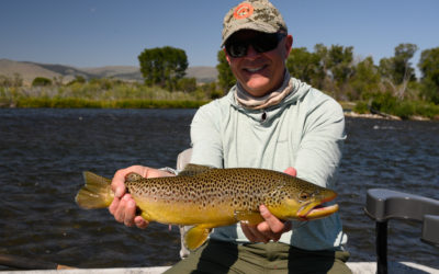 August Fly Fishing in Montana