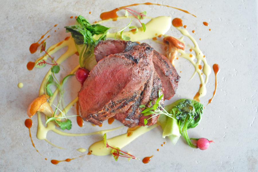 Steak Dinner at the Gallatin River Lodge