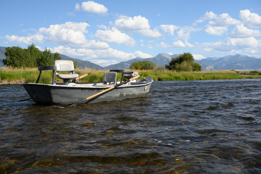 Float Fishing on the Madison River