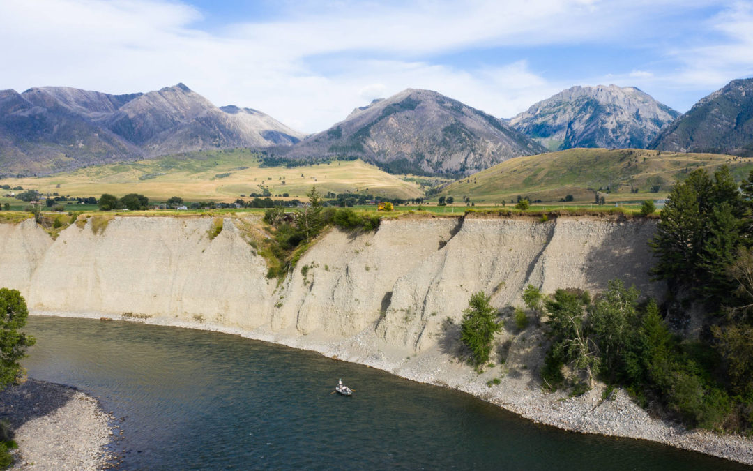 Float Fly Fishing on the Yellowstone River in Montana