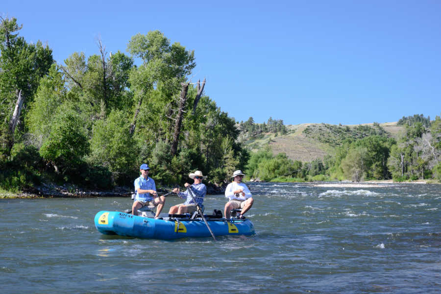 Floating and Fly Fishing on Montana's Stillwater River