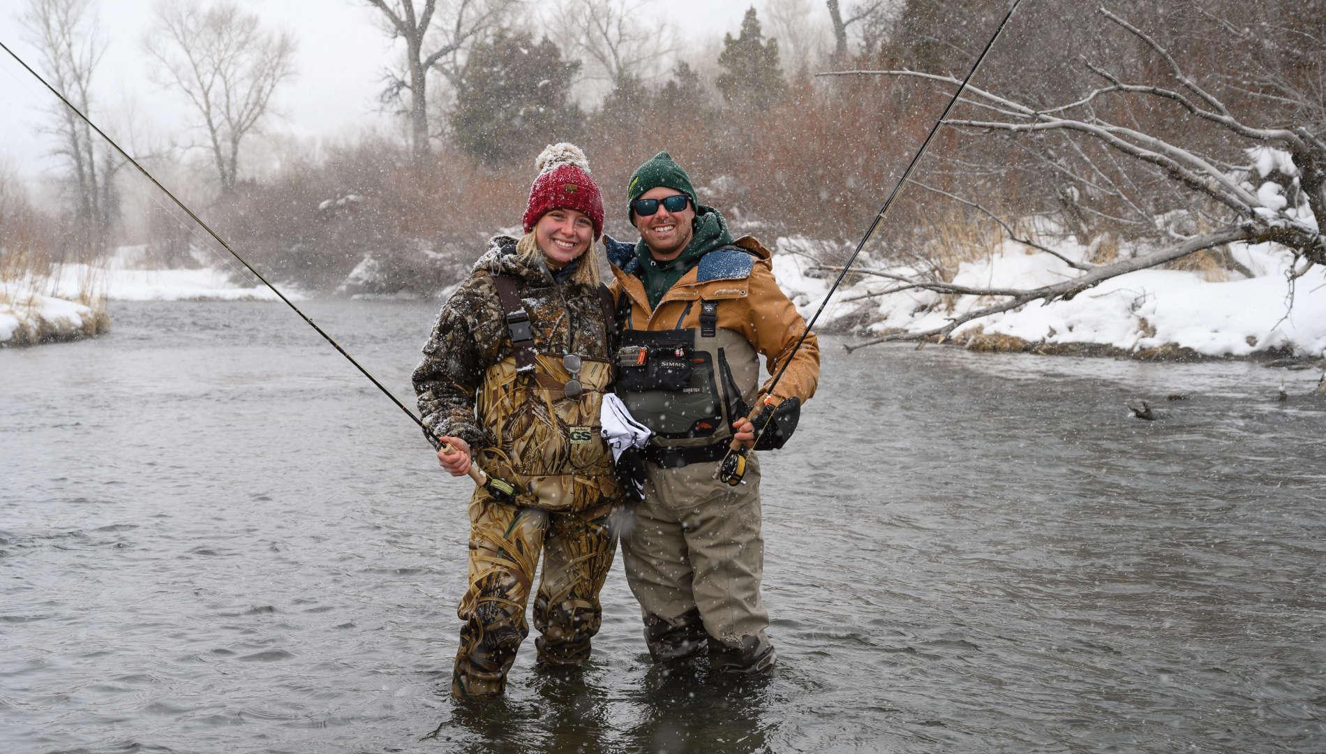 Winter Spring Creek Fly Fishing Trips - Montana Angling ...