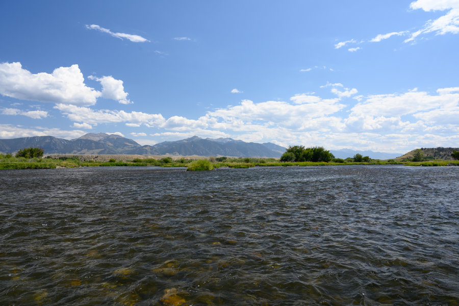 Summer on Montana's Madison River
