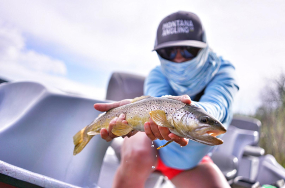 Missouri River Summer Fly Fishing Trips