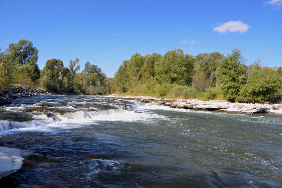 Beartooth Falls on the Stillwater River
